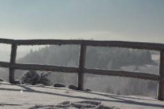 Taras zimową porą w Szyprówce
