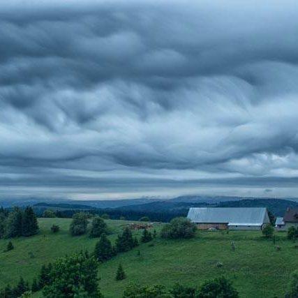 Góry Sowie - Widok z Szyprówki - Chata Pod Sową