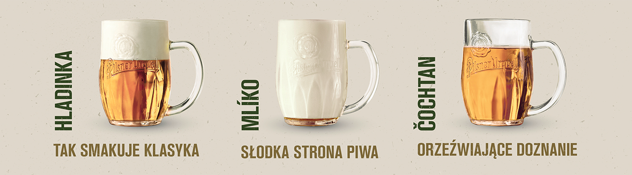 Pilsner Urquell na trzy sposoby
